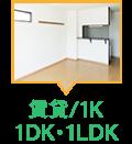 1K/1DK/1LDK