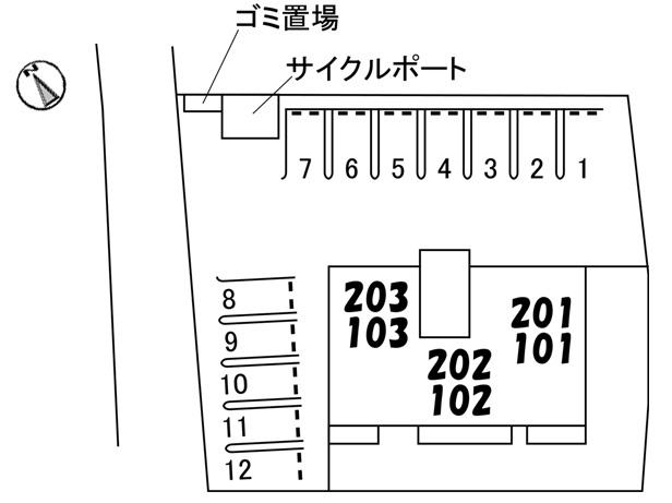 シャーメゾンAOI(1LDK)