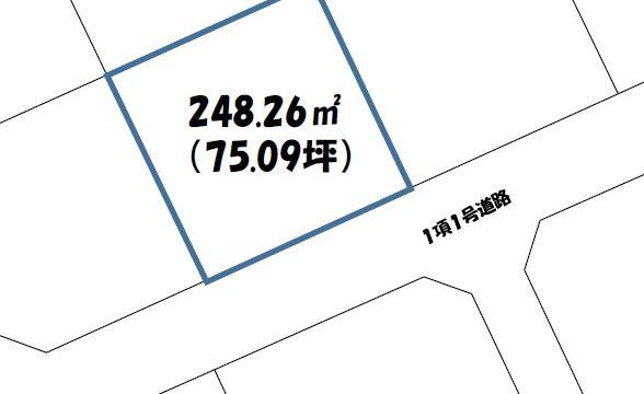 売土地(下郷長谷西売土地)価格変更