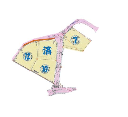 荻町売土地5区画参考図