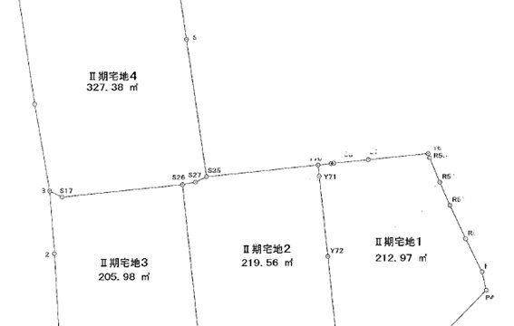 分譲地(山口市吉敷赤田)全4区画
