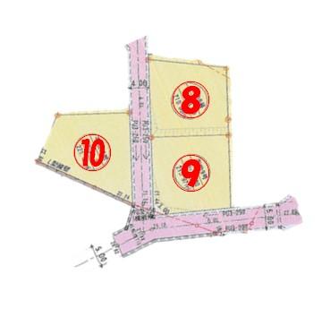 山口市荻町売土地7(分譲地3区画)