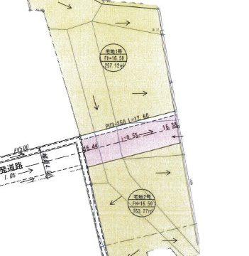 小郡山手上分譲地Ⅱ(①77.77坪、②49.39坪:全2区画)
