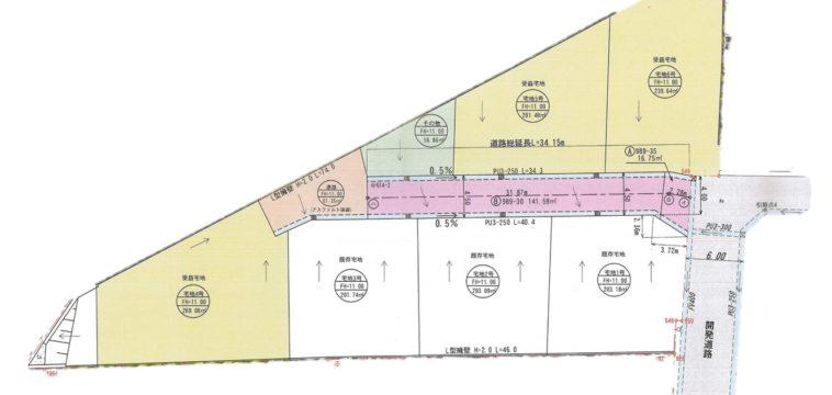 山口市朝田分譲地5(全3区画)